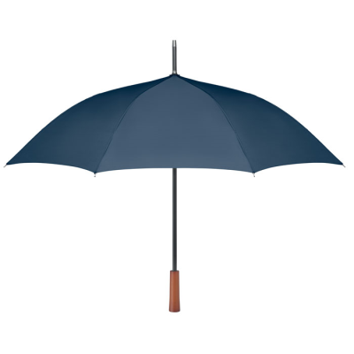 Picture of 23 INCH AUTO OPEN UMBRELLA in 190t Rpet Pongee Fabric with Black Plated Metal Shaft & Ribs