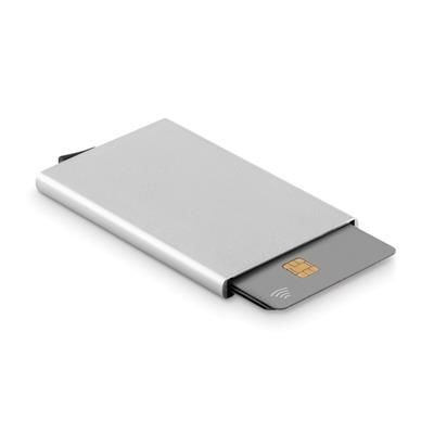 Picture of ALUMINIUM METAL CREDIT CARD HOLDER with Rfid Protection