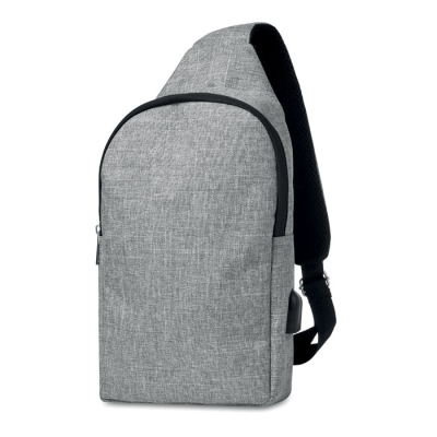 Picture of 600D 2 TONE POLYESTER CHEST BAG