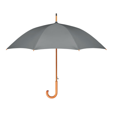 Picture of 23 INCH AUTO OPEN UMBRELLA in 190t Rpet Pongee with Wood Shaft