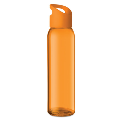 Picture of GLASS BOTTLE with Pp Lid with Hanging- Carrying Loop