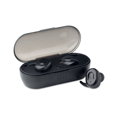 Picture of SET OF 2 CORDLESS TWS BLUETOOTH STEREO EARPHONES