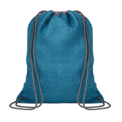Picture of DRAWSTRING BAG in 1200d Heathered Polyester