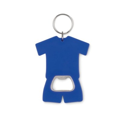 Picture of TEE SHIRT SHAPE BOTTLE OPENER in Abs with Keyring