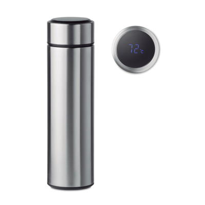 Picture of DOUBLE WALL STAINLESS STEEL METAL INSULATING VACUUM BOTTLE