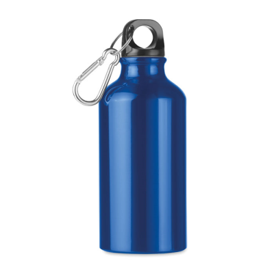 Picture of ALUMINIUM METAL SINGLE LAYER BOTTLE with Carabiner