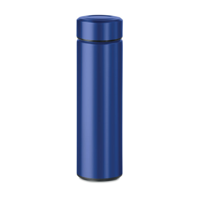 Picture of DOUBLE WALL STAINLESS STEEL METAL INSULATING VACUUM FLASK with Additional Tea Infuser