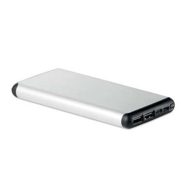 Picture of 10000 MAH POWER BANK in Aluminium Metal Case with Suction Cup for Ease of Use Whilst Travelling