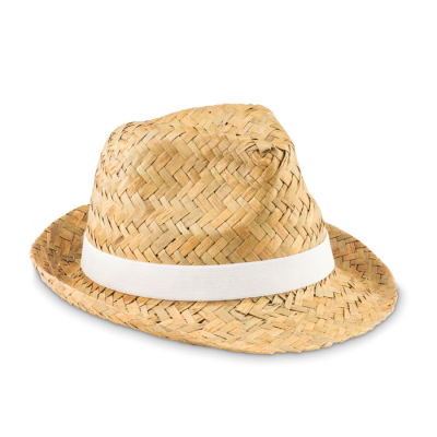 Picture of NATURAL STRAW HAT with Polyester Band