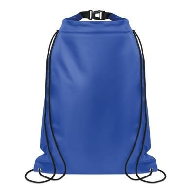 Picture of LARGE WATERPROOF DRAWSTRING BAG in 190t Ripstop Polyester