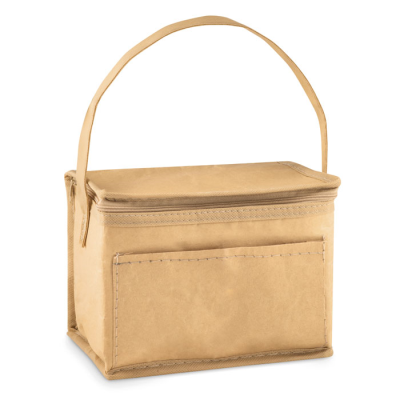 Picture of PAPER WOVEN COOL BAG FOR 6 CANS
