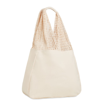 Picture of BEACH BAG COTTON & MESH