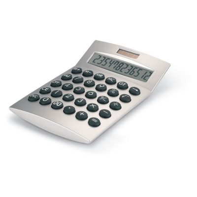 Picture of BASICS 12 DIGITS CALCULATOR in Matt Silver