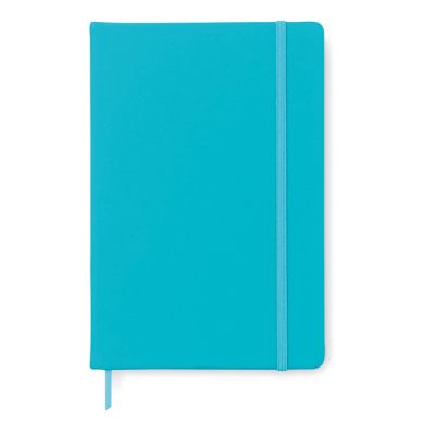 Picture of A5 NOTE BOOK with Soft PU Cover & 96 Blank Pages Closed by an Elastic Rubber Band