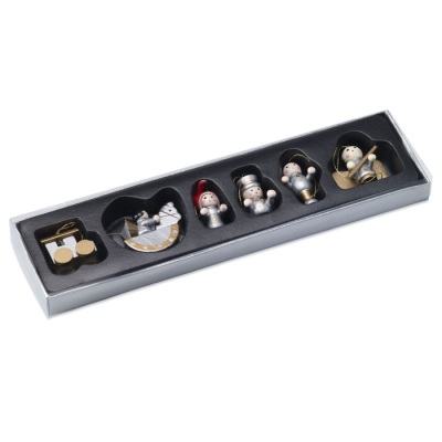 Picture of SET OF 6 XMAS DECORATION