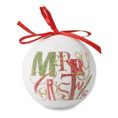Picture of CHRISTMAS BAUBLE PEARL FINISH