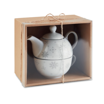 Picture of CHRISTMAS TEA SET