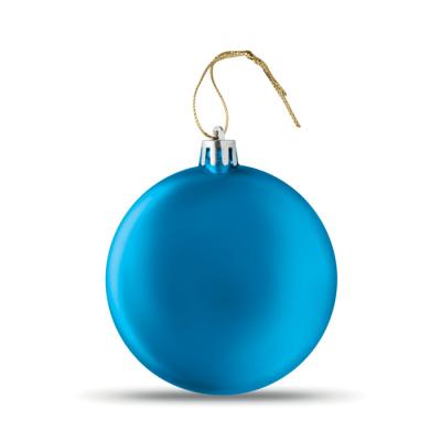 Picture of FLAT CHRISTMAS BAUBLE in Royal Blue