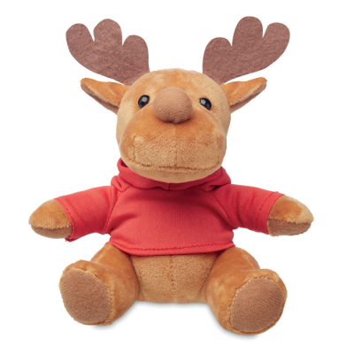 Picture of PLUSH REINDEER with Hooded Hoody