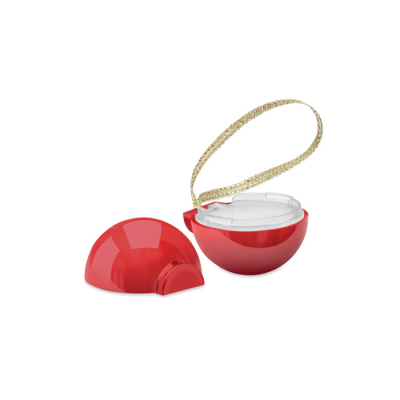 Picture of CHRISTMAS BAUBLE LIP BALM in Red
