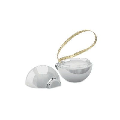 Picture of CHRISTMAS BAUBLE LIP BALM in Shiny Silver