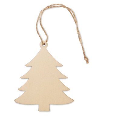 Picture of WOOD TREE SHAPE HANGER