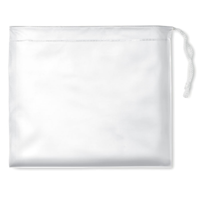 Picture of RAINCOAT in Pouch in White