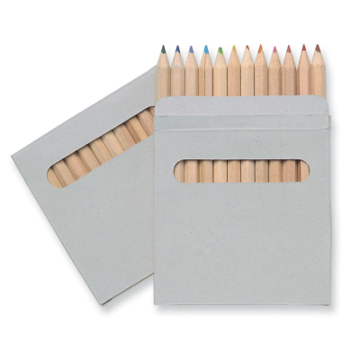 Picture of 12 COLOURING PENCIL SET in Brown