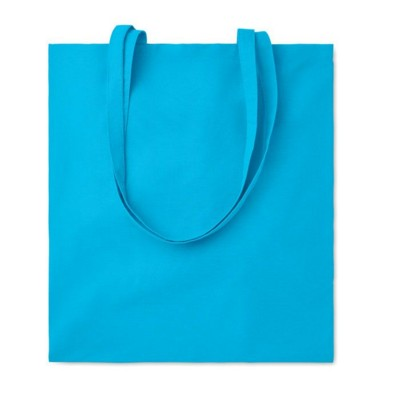Picture of 105GR & M² COTTON SHOPPER TOTE BAG in Turquoise