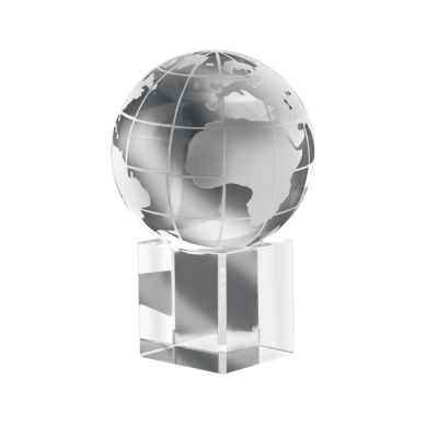 Picture of MUNDI DESK PAPERWEIGHT in Crystal Glass