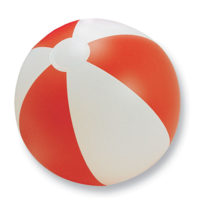 Picture of INFLATABLE BEACH BALL in Red