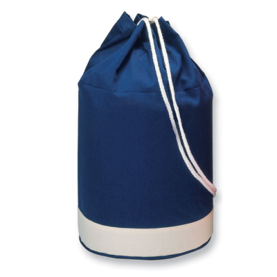 Picture of COTTON DUFFLE BAG BICOLOUR