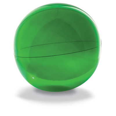 Picture of BEACH BALL in Translucent Green PVC