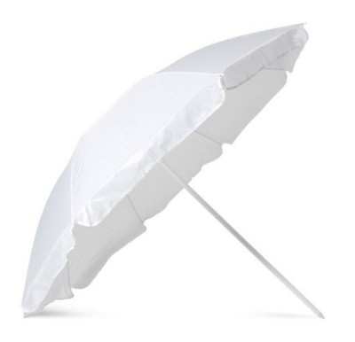 Picture of BEACH UMBRELLA with Pouch in White