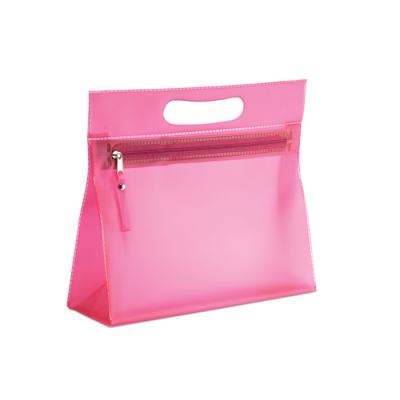 Picture of CLEAR TRANSPARENT COSMETICS POUCH