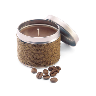 Picture of FRAGRANCE CANDLE in TIN in Brown
