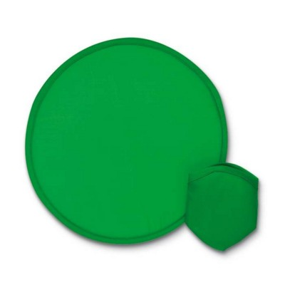 Picture of FOLDING NYLON FRISBEE in Green