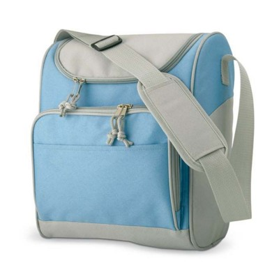 Picture of COOL BAG with Front Pocket in Light Blue