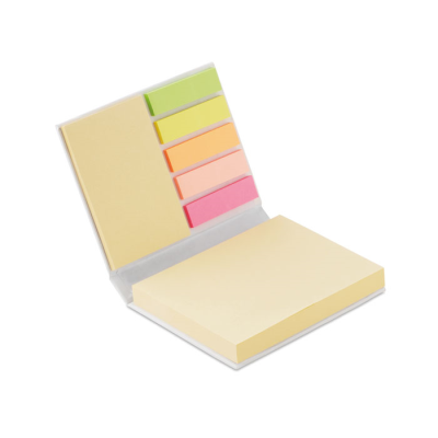 Picture of MEMO PAD SET in White
