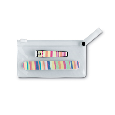 Picture of MANICURE TOOLS in Clear Transparent Pouch