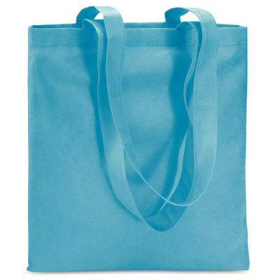 Picture of NON WOVEN SHOPPER TOTE BAG in Turquoise