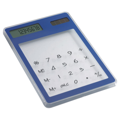 Picture of CLEAR TRANSPARENT SOLAR CALCULATOR