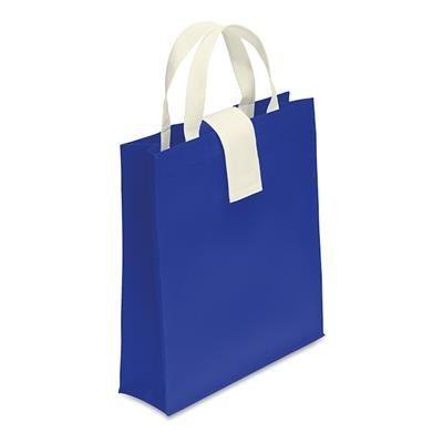 NON WOVEN SHOPPER TOTE BAG in Royal Blue