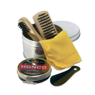 Picture of SHOE SHINE KIT in Tin Gift Box