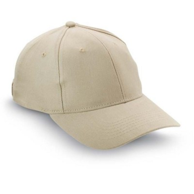 Picture of BASEBALL CAP in Soft Cotton in Khaki