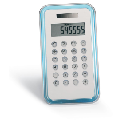 Picture of 8 DIGIT CALCULATOR in Translucent Blue