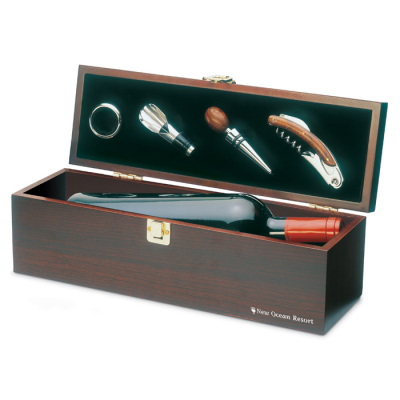 Picture of WOOD WINE GIFT BOX
