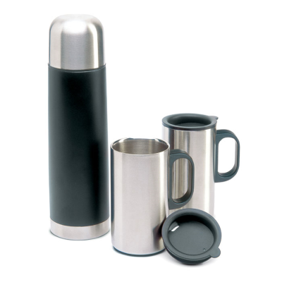 Picture of INSULATION FLASK with 2 Mug Set