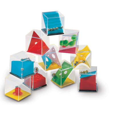 Picture of ASSORTED PUZZLE MAZE CUBE GAME SET in Box