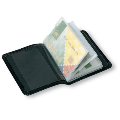 Picture of PU CREDIT CARD HOLDER in Black